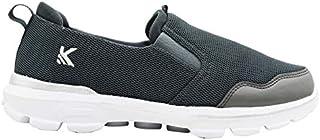 KazarMax Men's Grey Slipon's Walking Sneakers
