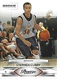 2009-10 Panini Prestige - Steph Stephen Curry - Golden State Warriors NBA Basketball Rookie Card - RC Card #207