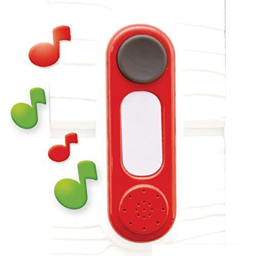 Smoby - Elektronische Türklingel - Klingel für Spielhäuser für drinnen und draußen, erweiterungs Zubehör für Smoby Häuser, für Jungen und Mädchen ab 2 Jahren