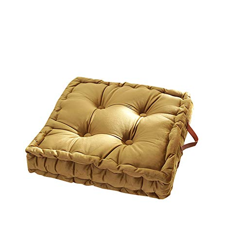 Printasaurus Square Thick Floor Cushion with Handles Square Floor Pillow Seat Sofa Tatami Mat Home & Garden Pillow Case