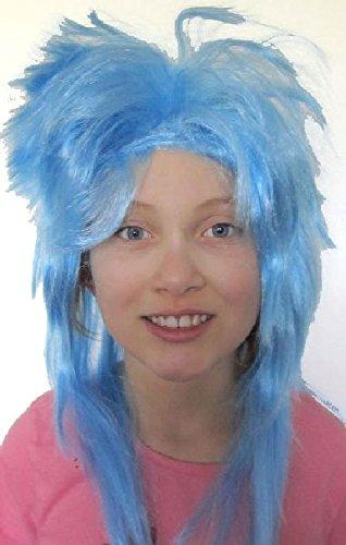Mondial-Fete - Perruque Tina Bleue
