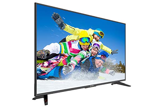 Komodo by Sceptre 50' 4K UHD Ultra Slim LED TV 3840x2160 Memc 120, Metal Black (KU-515)