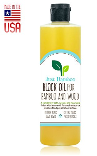 Butcher Block Oil, Cutting Board Oil, Conditioner, Better Than Pure Mineral Oil, Made for Wood and...