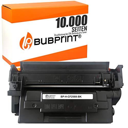 Bubprint Kompatibel Toner als Ersatz für HP CF259X CF259A 59A 59X für Laserjet Pro HP MFP M428fdw M404dn M404 404 dw M404dw M404n M304a M405 MFP 428 M428dw M428fdn M429 10000 Seiten kein Chip Schwarz