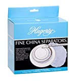 Hagerty Fine China Plate Dividers, Set of 48, Blue
