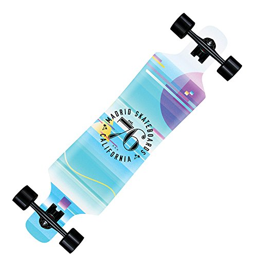 Madrid Skateboards Spade Longboard – Glitch Grafik