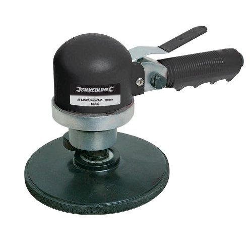 Silverline 580430 - Lijadora neumática doble acción
