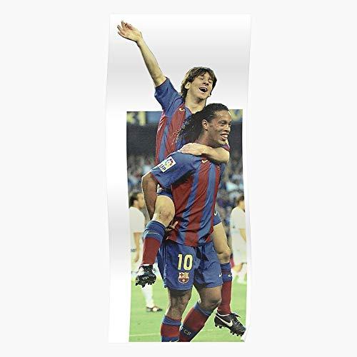 Nou Lionel Ronaldinho Barcelona Leo Fc Psg Camp Barca Póster de impresión...