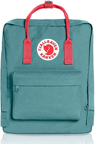Kanken Backpack Classic for Everyday (Frost-Green-Peach-Pink)