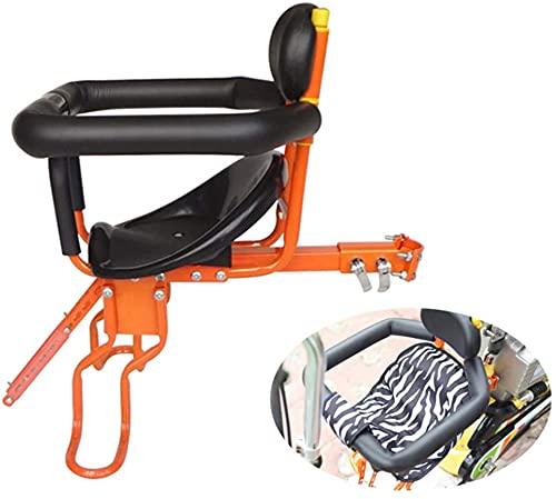 X&Y Asiento Universal de Bicicletas Infantil, Asiento Delantero de Seguridad para niños a Prueba de Lluvia Ajustable para niños de 8 Meses de Edad. (Color : C)