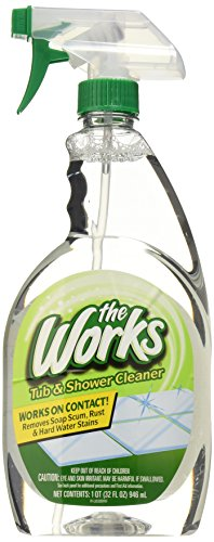 HOME CARE LABS 65320WK The Works Tub & Shower Cleaner 32 fl. oz