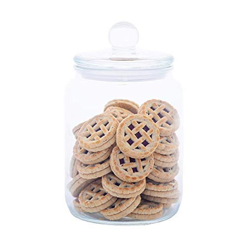 Our #4 Pick is the SevenT2 Airtight Glass Cookie Jar