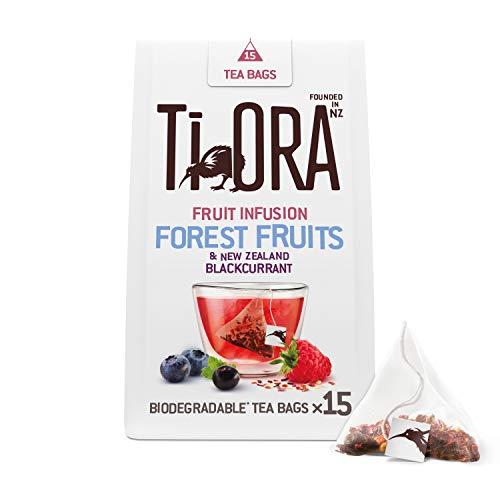 Ti Ora Tee, Früchtetee Forest Fruits, 4er Pack, 15 Pyramiden - Teebeutel