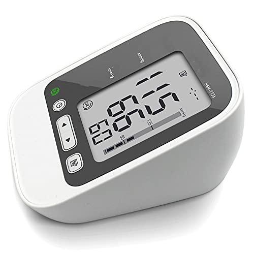Aparatos de tensiómetro con Brazos automáticos automáticos Digitales y Pulso de frecuencia, al Aire Libre con Manguito de Ancho y Pantalla Grande para el Uso de la casa.