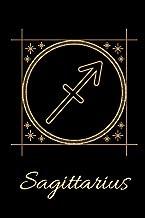 """Sagittarius: Zodiac Notebook, Celestial Astrology Journal (6"""" X 9"""")"""