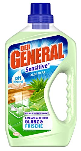 Der General Sensitive Aloe Vera, Allzweckreiniger, 1 x 750 ml, ph-neutraler Universalreiniger für hygienische Sauberkeit