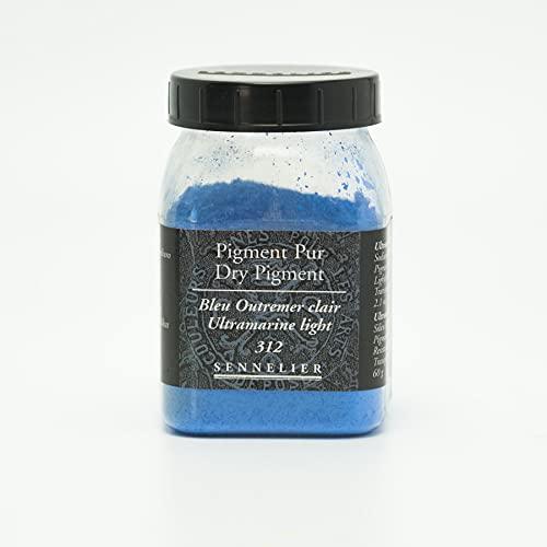 Sennelier Pure pigment - 312 colour azul brillante, 200 ml