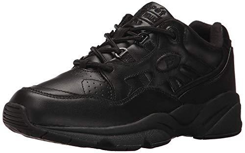 Propet Men's Stability Walker Sneaker, Black, 15 3E US