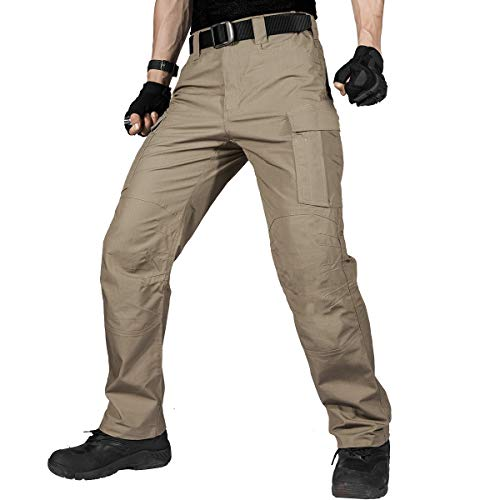Our #5 Pick is the FREE SOLDIER Men's Water Resistant Tactical Pants