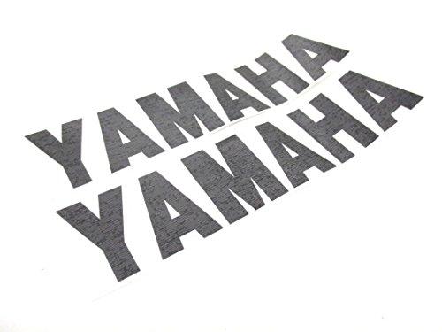 2X Aufkleber Schwarz Yamaha Aerox BWS Slider Jog YZF 32 x 7,5cm Sticker #46