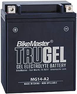 BikeMaster TruGel Battery MG14-A2 for Honda VF750C V45 Magna 1982-1983