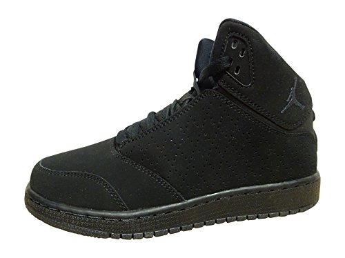 nike Air Jordan 1 Flight 5 Prem BG Hi Top Sneaker 881440 Sneaker Schuhe, Schwarz - Schwarz Anthrazit 010 - Größe: 36.5 EU