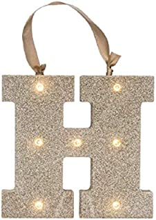 Best gold letter h wall decor Reviews