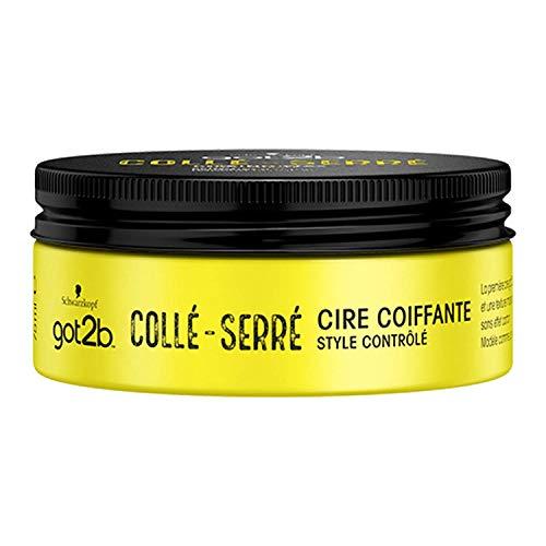 Got2b - Cire Coiffante Cheveux - Collé Serré - 75 ml