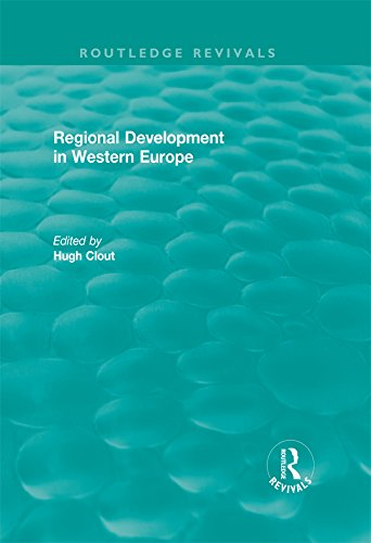 Routledge Revivals: Regional Development in Western Europe (1975)
