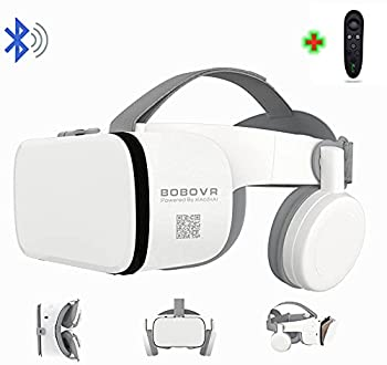 3D Virtual Reality VR Headset with Wireless Remote Control VR Glasses for IMAX Movies & Play Games  Compatible for Android iOS iPhone 12 11 Pro Max Mini X R S 8 7 Samsung 4.7-6.2  Cellphone