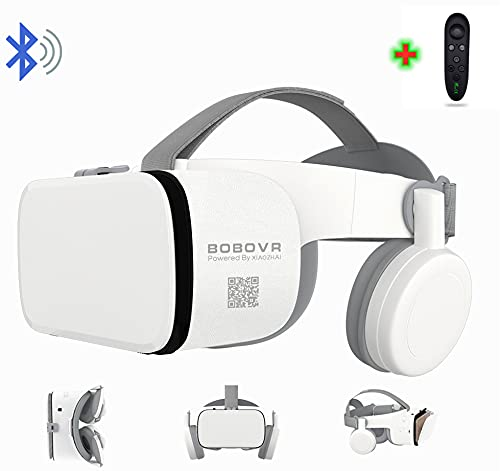 3D Virtual Reality VR Headset with Wireless Remote Control, VR Glasses for IMAX Movies & Play Games...
