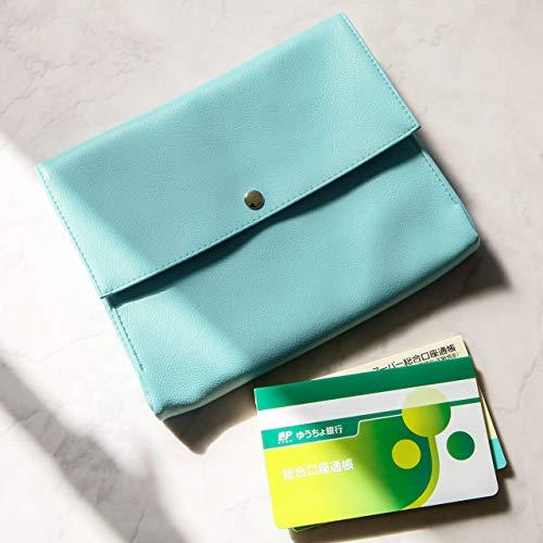 TEESFACTORY母子手帳ケースmamacoホワイト白日本製PVCレザー人気