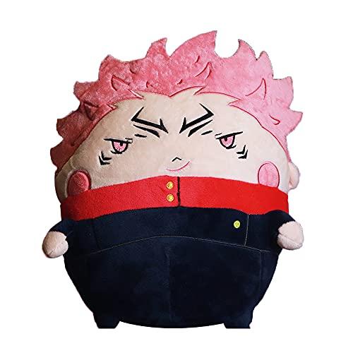 Bftelly Anime Plushies for Jujutsu Kaisen Sukuna Cute Plush Doll Toys Yuji Itadori Stuffed Figure Dolls Plush Toys Anime Gifts for Teens Boys Girls