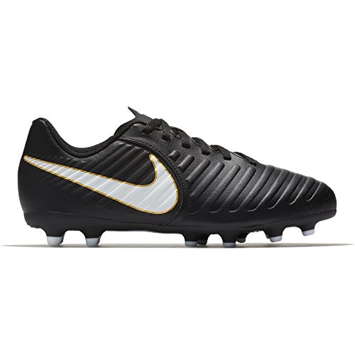 Nike Kids Jr. Tiempo Rio IV (FG) Firm Ground Soccer Cleat...