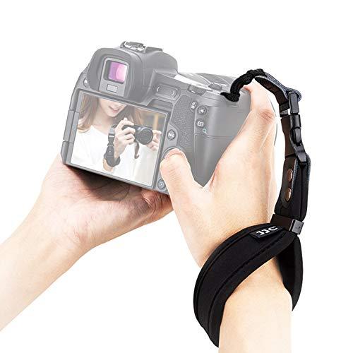 Camera Wrist Strap for DSLR/SLR Mirrorless Camera, Soft Neoprene Hand Strap, Quick Release Buckle Wrist Strap for Canon Nikon Sony Fujifilm Panasonic Olympus Pentax and More Camera
