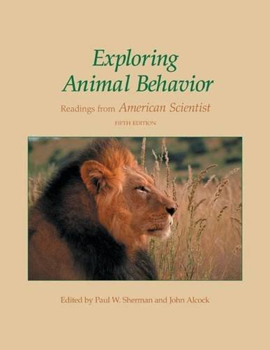 Exploring Animal Behavior: Readings from American...