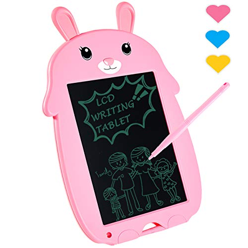LODBY Toys for 3 4 5 6 Year Old Girls Gifts Age 2-6, LCD Writing Drawing Board for Little Girls Birthday Gifts for 3 4 5 6 Year Old Girls Toys Age 2-6, Electronic Writing Drawing Tablet for Kid/Child