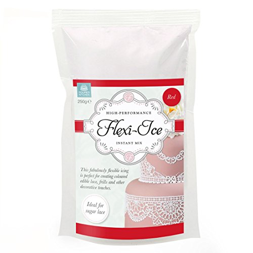 Squires Kitchen High Performance Flexi-Ice 250g Instant Mix Red