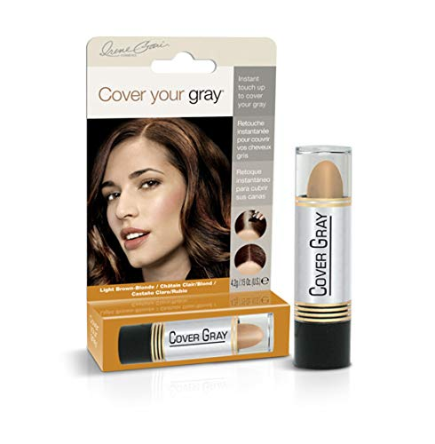 Cover Your Gray for Women Touch Up Stick Light Brown/Blonde, 0.15 oz