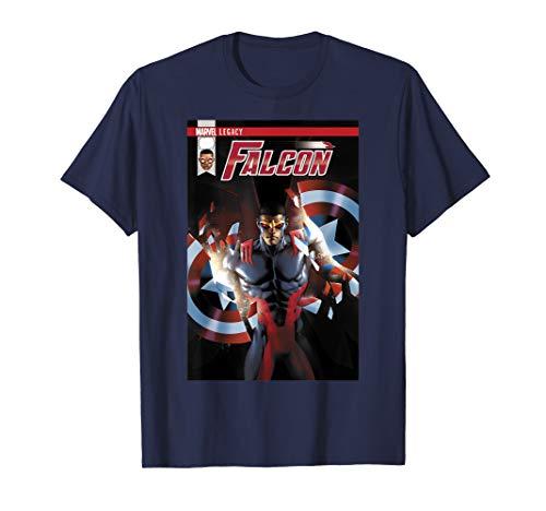 Marvel Falcon Take Flight Comic Cover Graphic T-Shirt