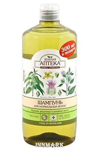 59281Shampoo für normales Haar Brennnessel & Klette Öl 1000ml grün Apotheke