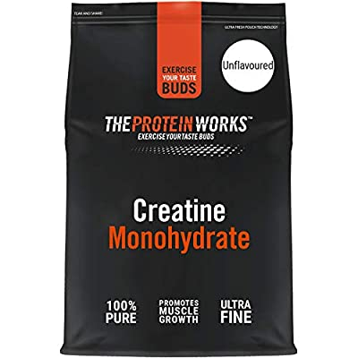 THE PROTEIN WORKS Creatine Monohydrate Powder | 100% Pure & Fine | Premium Grade Supplement For Lean Muscle Growth | Vegan | Unflavoured | 250 g