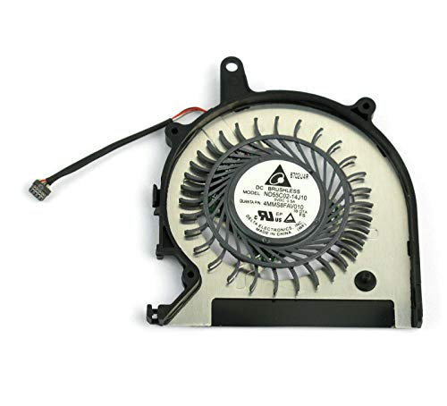 CAQL CPU Cooling Fan for Sony Vaio Pro13 SVP13 SVP132 SVP13213CGB SVP13213CXB SVP13213CXS SVP13213CYB SVP13215PXB SVP13215PXS SVP132190X SVP1321ACXB SVP1321ACXS SVP1321BPXB SVP13A SVP132A1CW