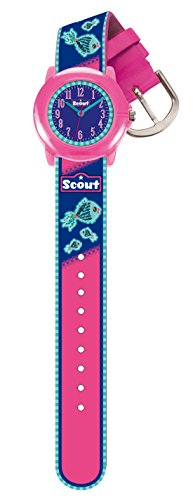 Scout Mädchen-Armbanduhr Analog Quarz Plastik 280305010