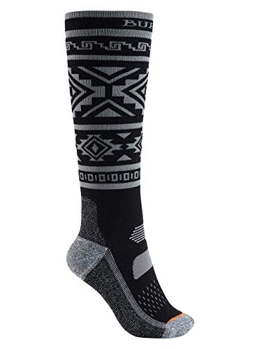 Burton Damen Performance Midweight Snowboardsocken, True Black, ML