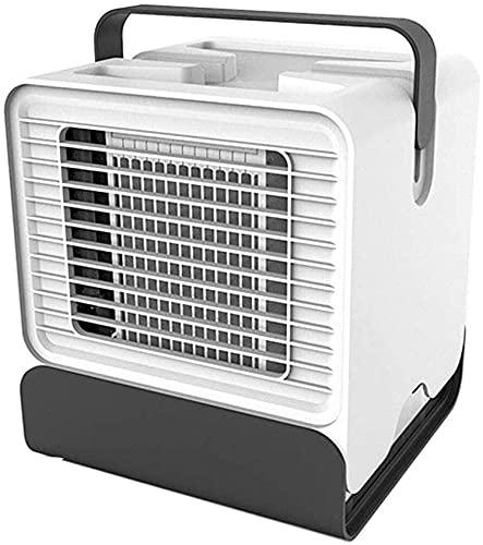 WSZYBAY Apartamento con aire acondicionado sin refrigeradores evaporativos Exhaus Mini Aire acondicionado ABS 151 * 150 * 171mm Refrigeración Escritorio portátil USB Ventilador de refrigeración (Tamañ