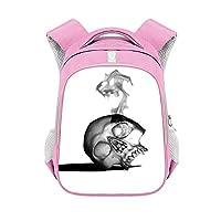 CJIUDIアニメバックパック、2層拡張大容量正方形バックパック、靴/弁当収納バックパック、防水ジッパーバッグ、A4収納ビジネスバックパック、漫画通勤スクールバッグ、学校ユニセックスバッグ,Pink 09