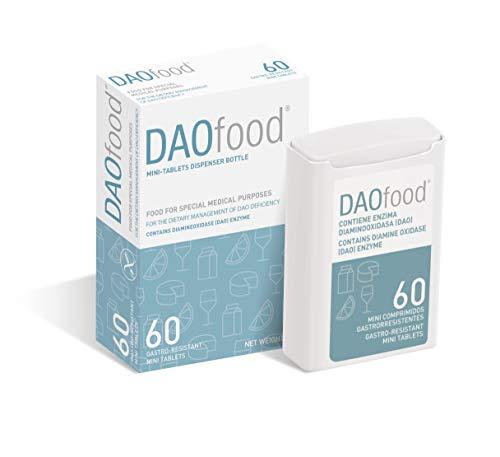 Daofood - Manejo Dietético del Déficit de Dao – Dispensador 60 Minicomprimidos Gastrorresistentes