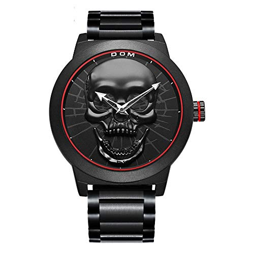 Relojes De Pulsera,Reloj Deportivo Skull Reloj Creativo Reloj Deportivo De Moda para Hombre