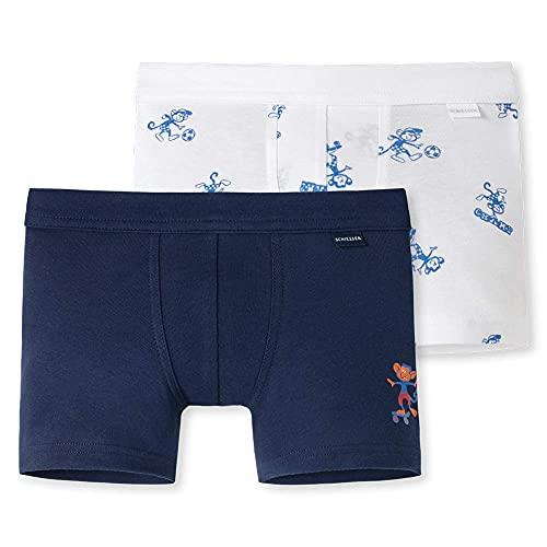 Schiesser Jungen Multipack 2PACK Shorts Unterwäsche, Sortiert 3, 164